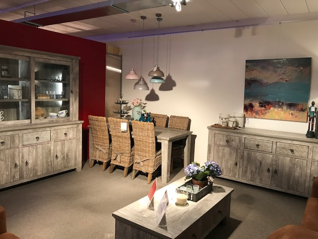 Dressoir + buffetkast + tafel - Outlet - Sensa Interieur