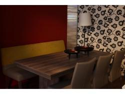 Tafel met 3 stoelen en bank - Outlet - Sensa Interieur