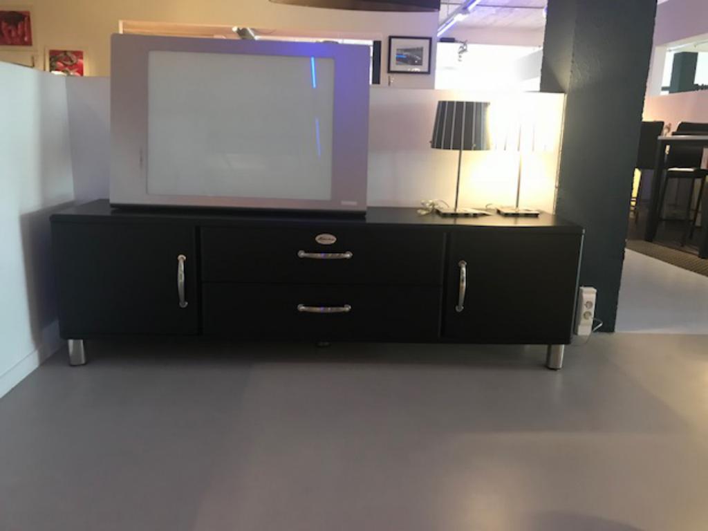 Tv meubel zwart tv meubels outlet sensa interieur